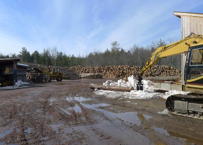Big firewood operation
