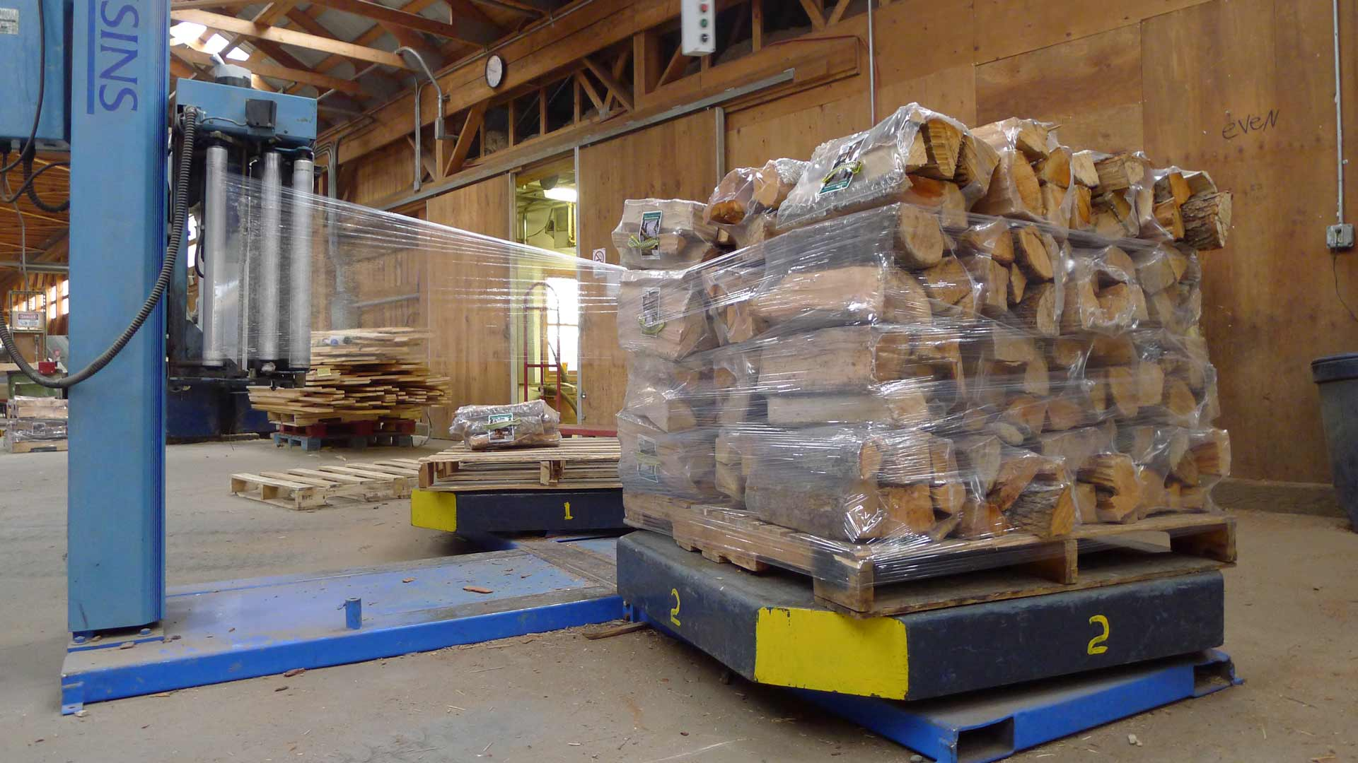 Wholesale firewood purchasing